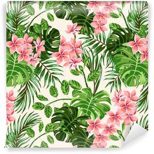 Seamless exotic pattern. Vinyl Wallpaper