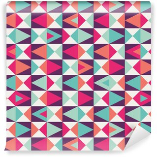 Vinyl Wallpaper seamless geometric pattern