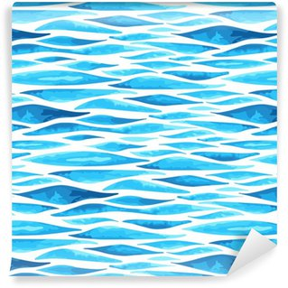 Seamless horizontal sea background Vinyl Wallpaper
