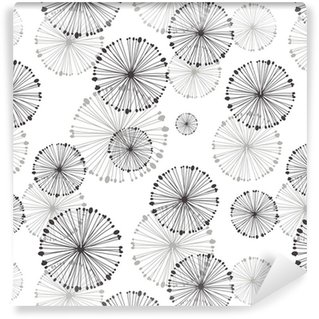 Pixerstick Wallpaper seamless pattern of dandelion
