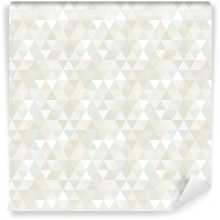 Seamless Triangle Pattern, Background, Texture Vinyl Wallpaper