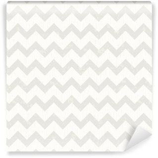 Vinyl Wallpaper seamless white chevron pattern