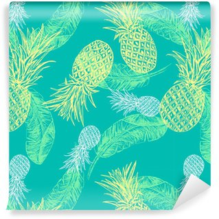 Tropical seamless pattern Vinyl Wallpaper