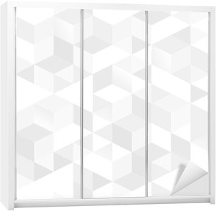 Abstract seamless texture Wardrobe Sticker