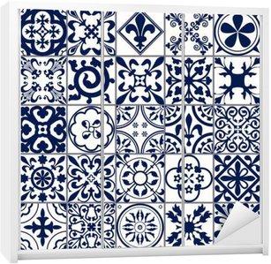 Moroccan tiles Seamless Pattern A Wardrobe Sticker