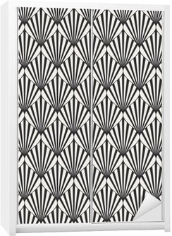seamless geometric pattern Wardrobe Sticker