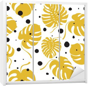 Seamless vector pattern Wardrobe Sticker
