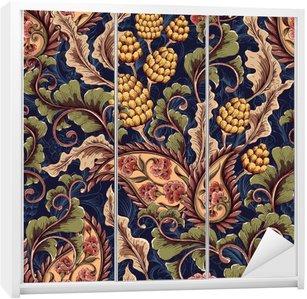 Victorian seamless pattern Wardrobe Sticker