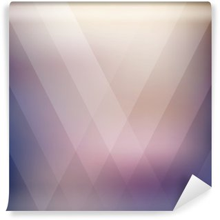 Washable Wall Mural Abstract geometric purple polygonal background. Vector illustration