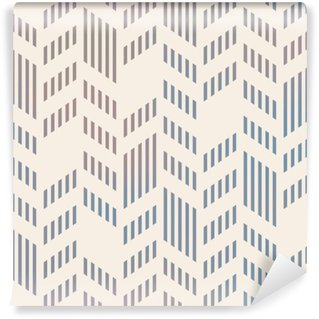 Washable Wall Mural Abstract Seamless Geometric Vector Chevron Pattern. Mesh backgro