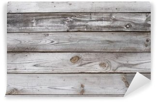 Washable Wall Mural Aged Wood Background Texture Horizontal