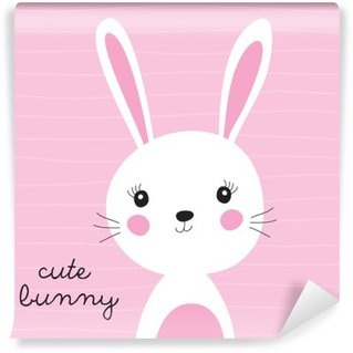 cute bunny vector illustration