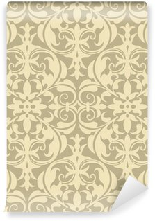 Washable Wall Mural Damask Pattern