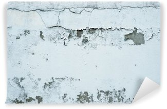 Flaking Paint on a Stone Wall Washable Wall Mural