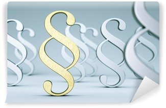 Washable Wall Mural goldener Paragraph
