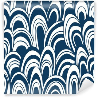 Hand drown seamless pattern Washable Wall Mural