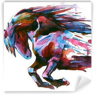 Washable Wall Mural horse