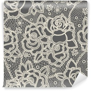 Lace seamless pattern Washable Wall Mural