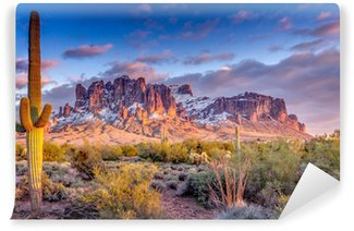 Landscape of the mountains in Arizona Washable Wall Mural