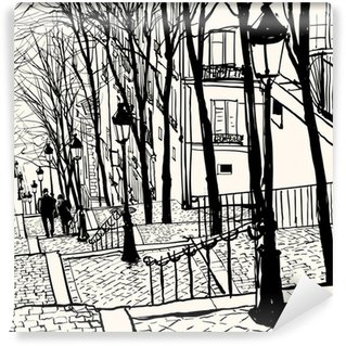 Washable Wall Mural Montmartre Paris