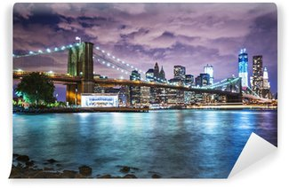 New York City lights Washable Wall Mural