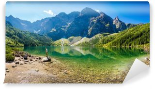 Panorama Morskiego Oka Washable Wall Mural