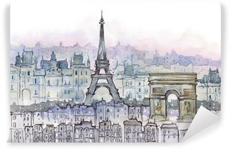 Washable Wall Mural Paris