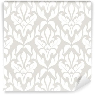 Washable Wall Mural Seamless damask pattern.