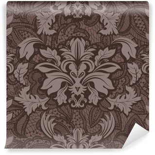 Washable Wall Mural Seamless damask pattern