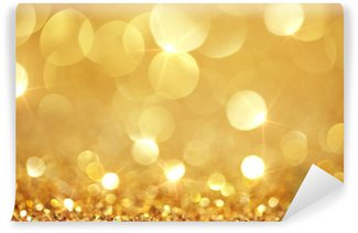 Washable Wall Mural Shiny golden lights