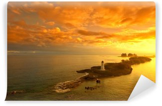 Sunrise in the Bahamas Washable Wall Mural