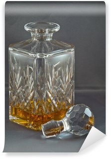 Washable Wall Mural Whiskey in the decanter