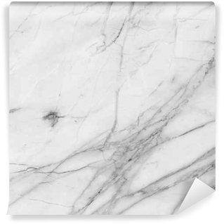 Washable Wall Mural white background marble wall texture