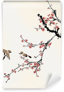 Washable Wall Mural winter sweet
