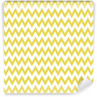 Zigzag pattern vector Washable Wall Mural