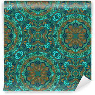 Kaleidoscope. Vector seamless background Washable Wallpaper