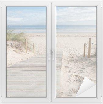 A path to the beach Window & Glass Sticker