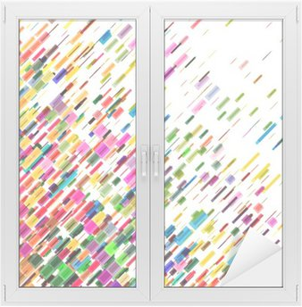 Abstract colorful moving lines, vector background