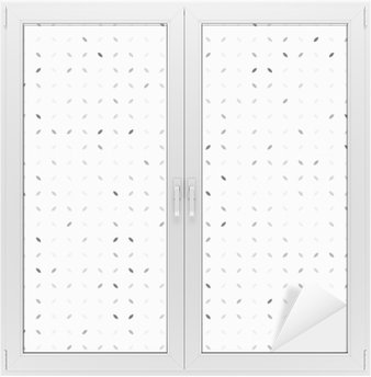 Window & Glass Sticker Abstract grey background, seamless pattern