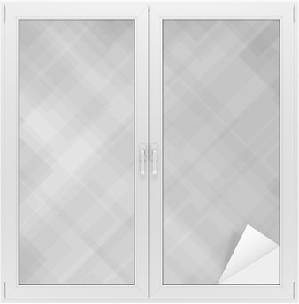 Window & Glass Sticker Abstract Grey Pattern