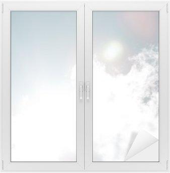 Window & Glass Sticker Blue sky