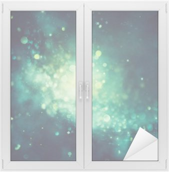 Window & Glass Sticker Bokeh shiny abstract background