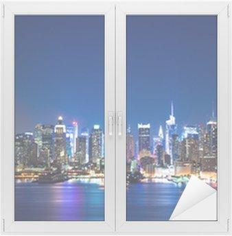 New York Manhattan skyline Window & Glass Sticker