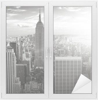 New York skyline Window & Glass Sticker
