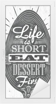 Window & Glass Sticker Poster vintage spoon