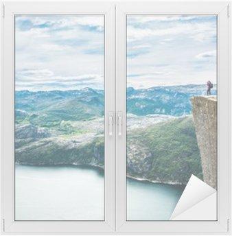 Preikestolen or Prekestolen Window & Glass Sticker