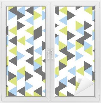seamless geometric pattern Window & Glass Sticker