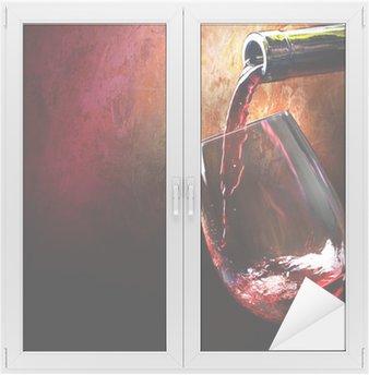 Window & Glass Sticker Wine