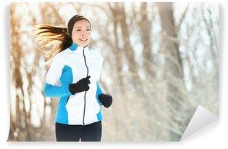 Yıkanabilir Duvar Resmi Koşu sporu kadın