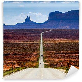 Yıkanabilir Duvar Resmi Monument Valley Road